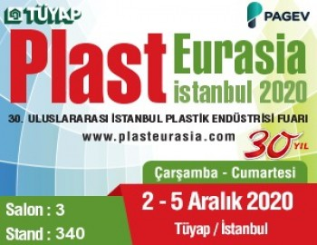 Tradition is still intact We are at Tüyap Plast Eurasia Istanbul 2020 Fair